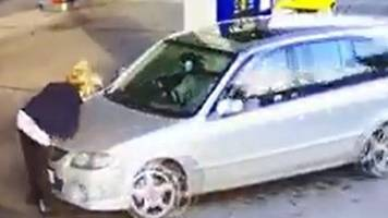 Barnsley petrol station cashier hurt in hit-and-run 'will tackle again'