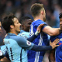 city, chelsea charged with failing to control players