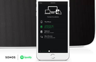 All Sonos owners can now use Spotify to control their speakers