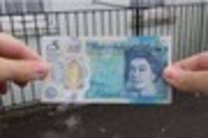 could your new-look £5 note be a fake?