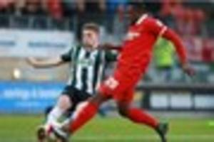 former plymouth argyle loanee up for player of the month award...