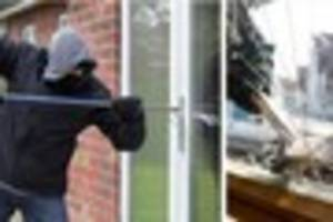 criminal gang from outside county blitzing people's homes for...