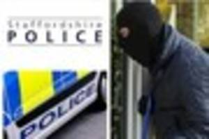 Burglars targeted house in Yoxall this morning