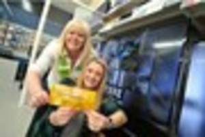 Golden ticket giveaway at Central England Co-operative in High...