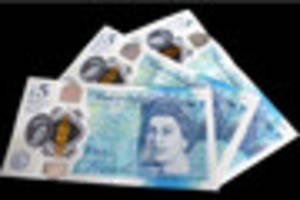 fake fivers warning, notes are being used for online purchases