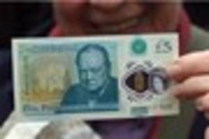 Now your plastic fiver could be worth £20,000 - if it has a...