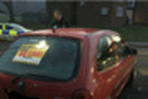 police pursue corsa off-road after it fails to stop in gloucester