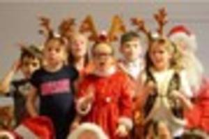 christmas in the schools: elliston primary academy