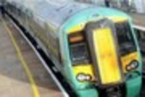 track side fire causes more delays for train commuters