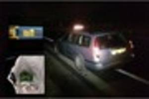 Driver arrested for drug and traffic offences on the A50 in...