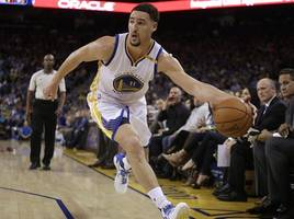 klay thompson goes for 60, could've gotten much more, but steve kerr was right not ...