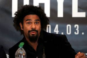 David Haye claims he could defeat Anthony Joshua in just 'two or three rounds'