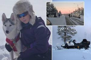 fife town in shock as murdered scot in lapland is named as 'beautiful girl' rebecca johnson