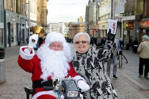 Santa Claus is coming to Paisley