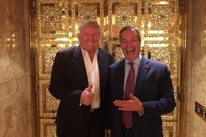 Nigel Farage has been nominated as Time magazine's Person of the Year