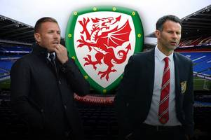 Manchester United legend Ryan Giggs and Cardiff City fans' favourite Craig Bellamy linked with Wales role