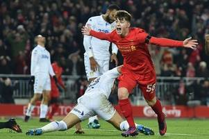 why liverpool fc legends robbie fowler and ian rush say they are wowed by welsh teen sensation ben woodburn