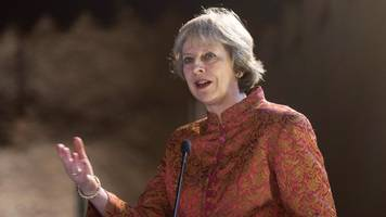 Theresa May 'clear-eyed' over Iran threat