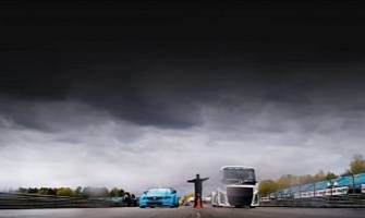 volvo preparing epic battle between the iron knight and an s60 polestar tc1