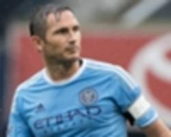 rumours: lampard lined up for england return