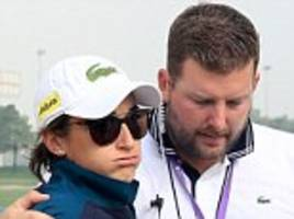 caddie dies at dubai ladies masters after collapsing with heart issue