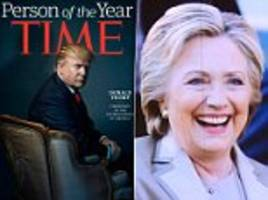 Donald Trump named Time 'Person of the Year' beating Hillary Clinton and Beyonce