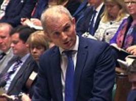 labour's brexit betrayal is 'like a carry on remake of mutiny on the bounty' blasts little known david lidington as he stands in for theresa may at pmqs