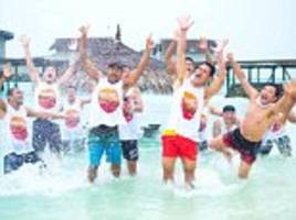 mma boss takes employees on trip of a life time to the maldives to say thanks for hard work