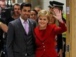 police catch scotland's transport minister humza yousaf driving without insurance in humiliation for the snp