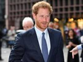 Prince Harry takes part in ICAP charity event