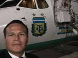 colombia plane crash pilot 'faced arrest for leaving bolivian air force early'