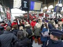 eurostar passengers vent their anger after delays outside paris