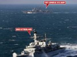 russian nuclear fleet 'strays' into britain's waters again