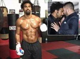 David Haye looking ripped in Miami gym as he prepares for training camp ahead of Tony Bellew fight