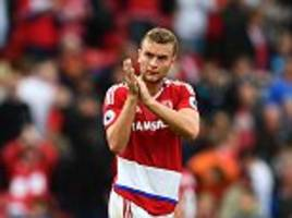 transfer news live: arsenal, chelsea, man utd and liverpool updates as middlesbrough look to fend off interest for ben gibson