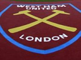 West Ham fan attacked member of Arsenal's media team during side's defeat at the London Stadium