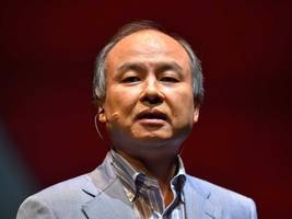 half of softbank's london-based $100 billion tech fund will be used to back us startups