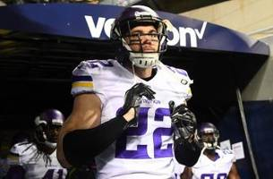 minnesota vikings safety harrison smith out for sunday, possibly rest of season