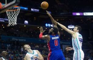 charlotte hornets set to take on the detroit pistons at home