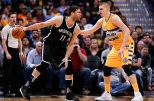 nets look to stop losing streak against the nuggets
