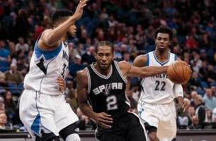 timberwolves wrap: falling apart to the spurs