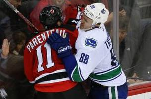 Vancouver Canucks Lose Larsen, Drop 3-2 Decision to Devils