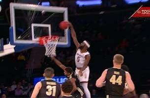 asu's oleka throws down mammoth poster dunk on doomed purdue defender