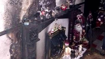 West Belfast candle fire prompts Christmas safety warning