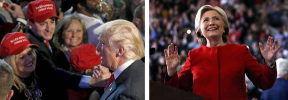 clinton throws thank you party for millionaire donors as trump resumes thank you tour
