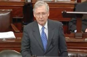 Mitch McConnell Invokes The Onion's Joe Biden in Moving Senate Floor Tribute to the VP