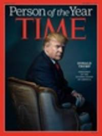 'A Very Great Honor': Donald Trump Is Time's Person Of The Year