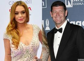 is lindsay lohan pursuing mariah carey's ex james packer?