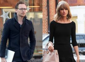 see tom hiddleston accidentally running into 'taylor swift' during morning jog in london