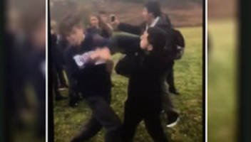 dad swarmed in ont. student fight